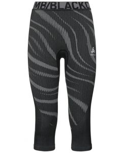 Odlo W Pant Suw 3/4 Performance Blackcomb