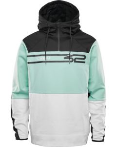 Thirty Two Signature Tech Hoodie White/mint