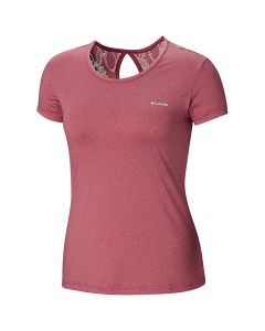 Columbia W Peak to Point Novelty SS Shirt